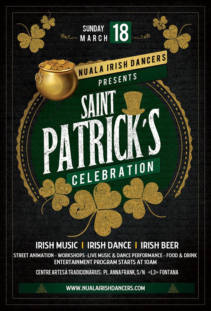 Flyer de Nuala Irish Dancers