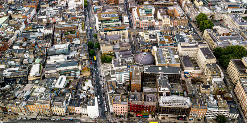 Calles en Dublín
