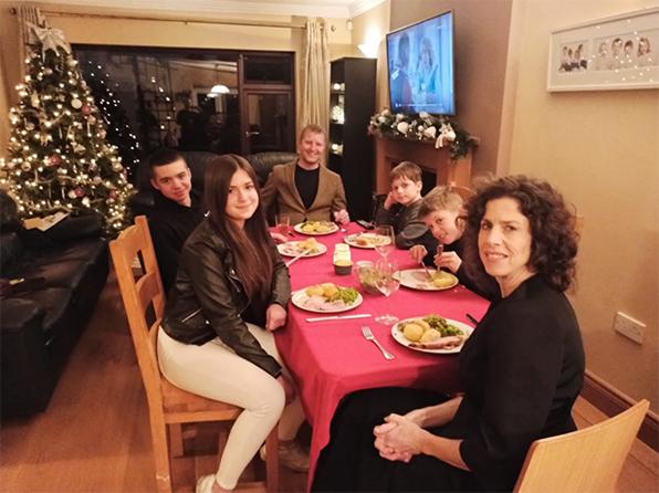 Cena de Navidad en Irlanda