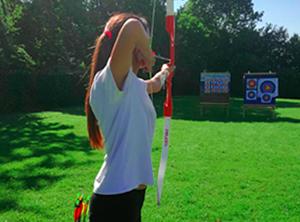 Archery activity en Tiernan's