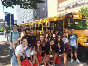 Autobús escolar en Filadelfia