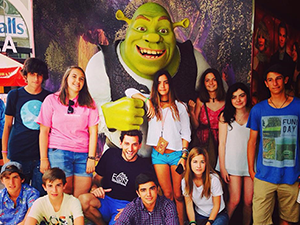 Shrek photocall en San Diego