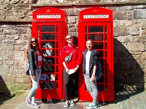 Cabinas telefónicas de Edimburgo