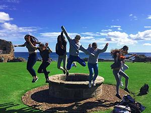 Exteriores en St. Andrews Castle