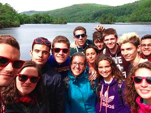 Loch Katrine, conocido como el Lago Ness