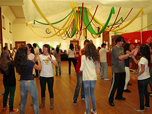 Bailando Céilidh, danza tradicional gaélica