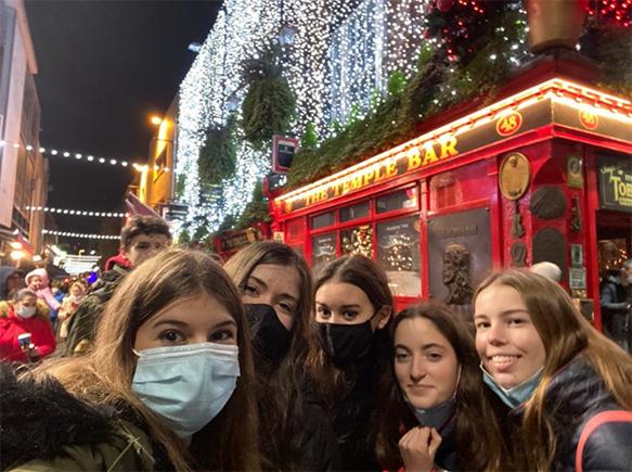 Fin de año en Irlanda
