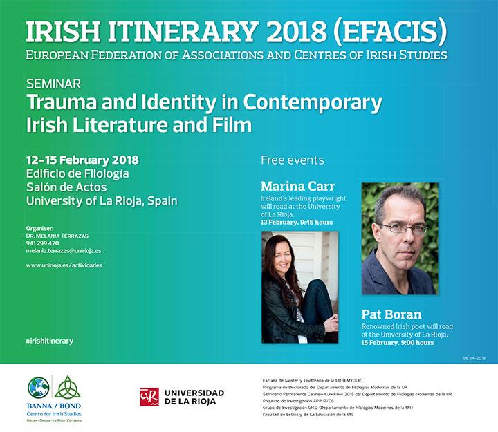 literatura cine irlandeses