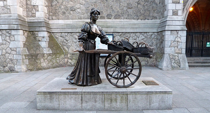 Estatua de Molly Malone